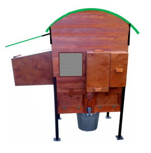 "Eco-rabbit house, mini-farm ""Rabbitax- 4 Full"""