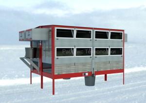 Конструкция мини-фермы для кроликов «Раббитакс 16 Prom»